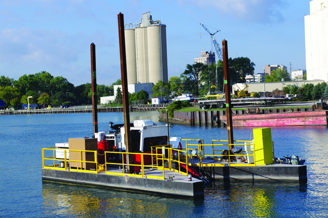 Outboard Marine Corp. Superfund Dredging, Waukegan Harbor, IL