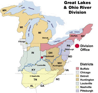 Great Lakes and Ohio River Division  Missions  Real Estate